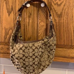 Coach purse with tags